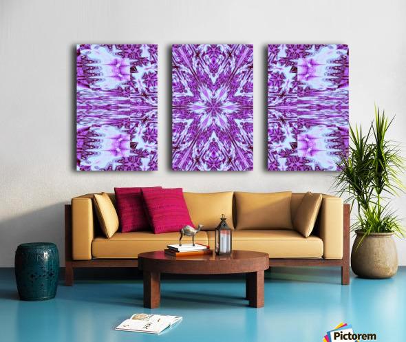 Painted Wildflowers 12 Split Canvas print