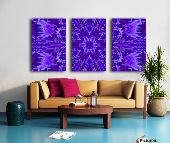Painted Wildflowers 13 Split Canvas print