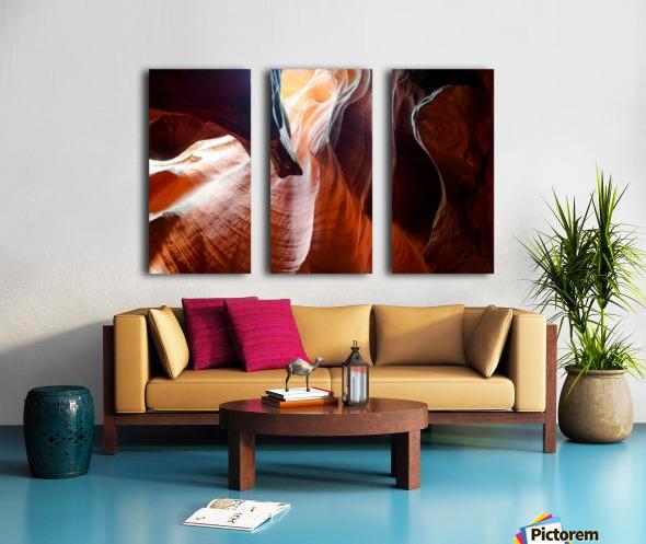 Upper Antelope Canyon 3 Split Canvas print