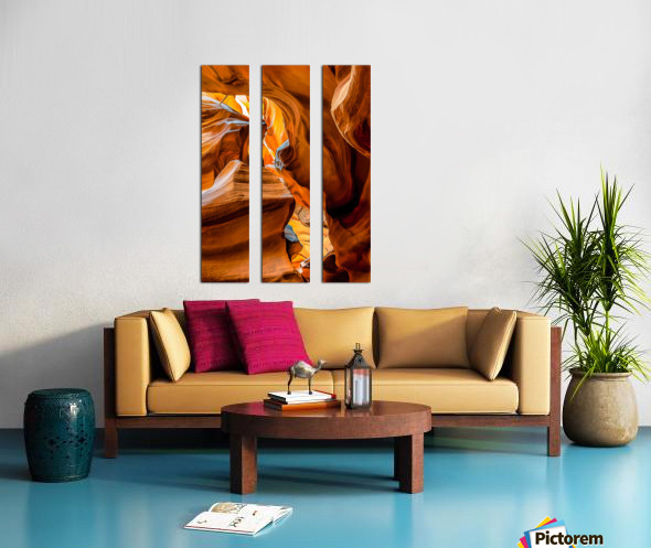 Upper Antelope Canyon 7 Split Canvas print