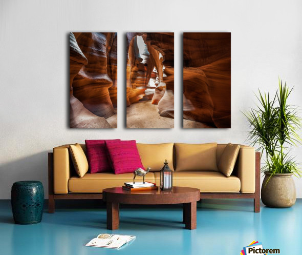 Upper Antelope Canyon 9 Split Canvas print