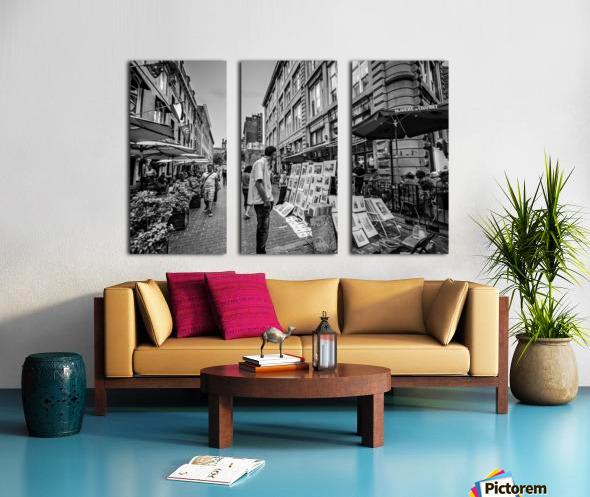 Old Port Of Montreal Split Canvas print
