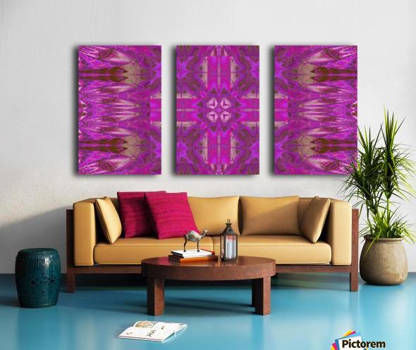 Stone Light Flower 5 Split Canvas print