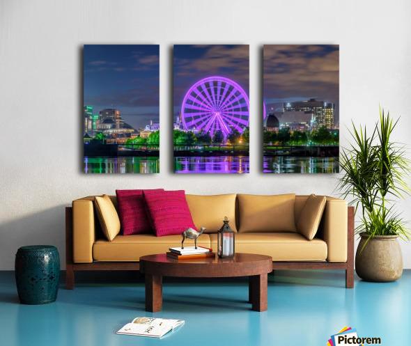 _TEL0646 HDR 1 2 Split Canvas print