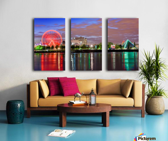 _TEL0628 HDR 1 2 Split Canvas print