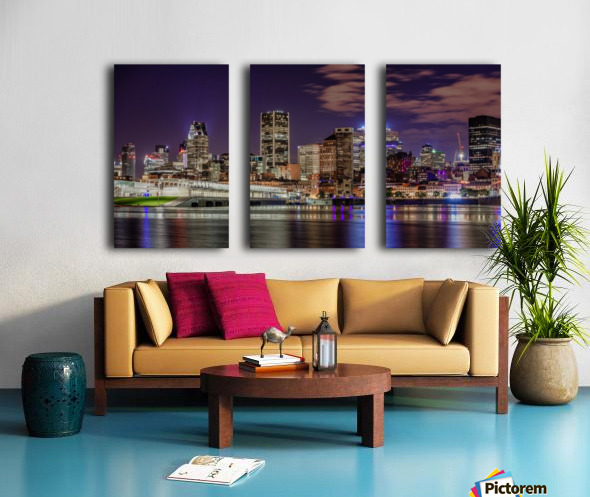 _TEL0662 Edit Split Canvas print