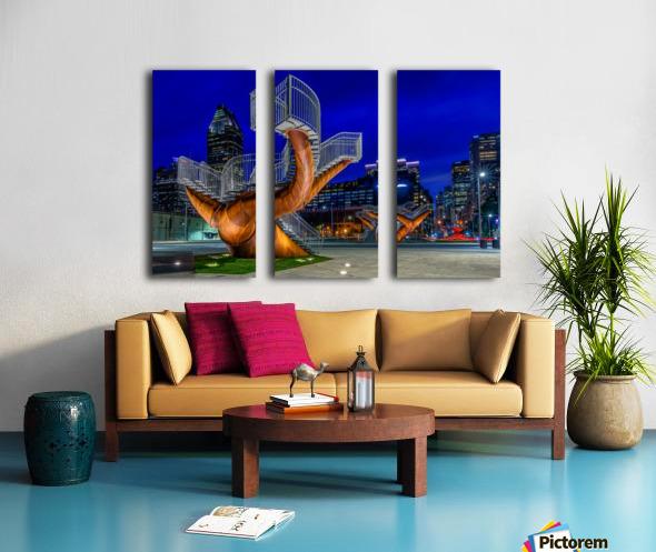 _TEL5194 HDR 1 2 Split Canvas print