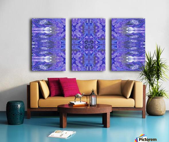 Stone Light Flower 10 Split Canvas print