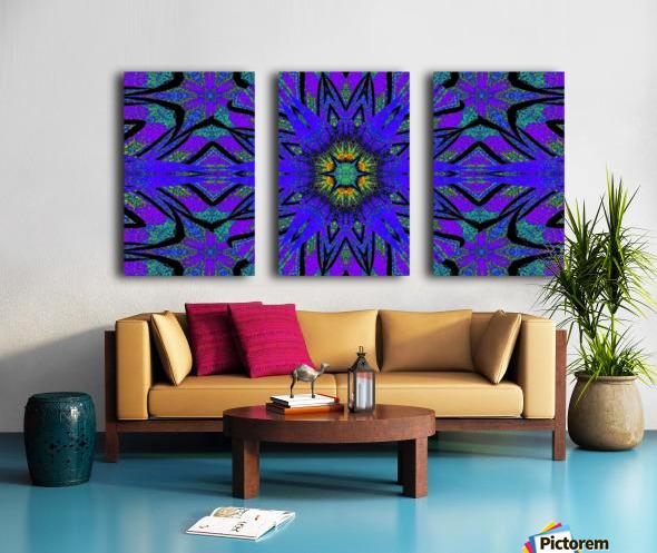 Totem Wildflower 7 Split Canvas print