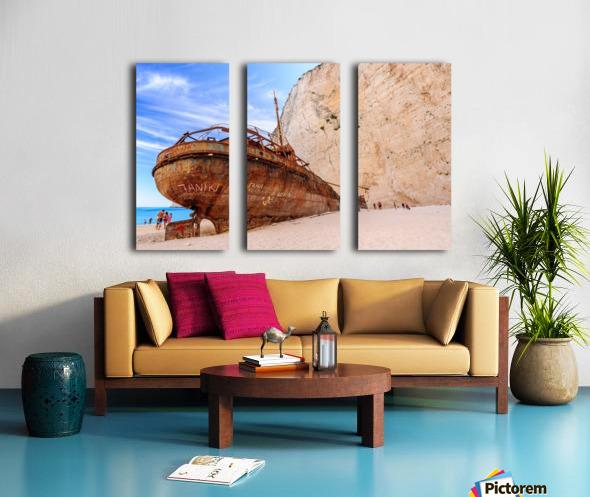 _TEL3227 Split Canvas print