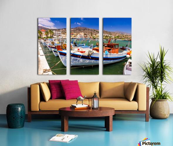 _TEL3860 Split Canvas print