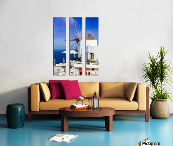 _TEL4717 Split Canvas print