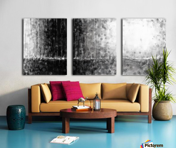 Abstract 1802 Split Canvas print