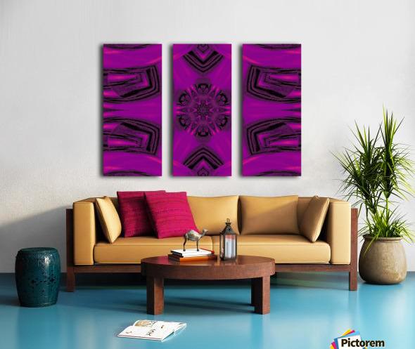 Purple Desert Song 37 Split Canvas print