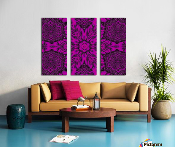Purple Desert Song 39 Split Canvas print