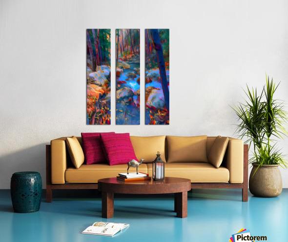 San Gabriel spring Split Canvas print