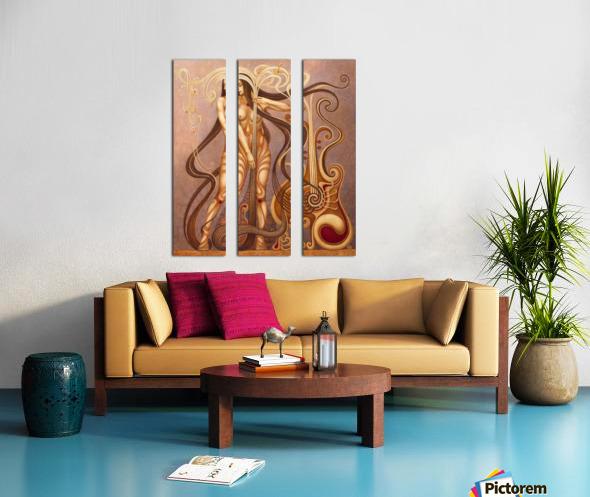 MYSTERIUM Split Canvas print