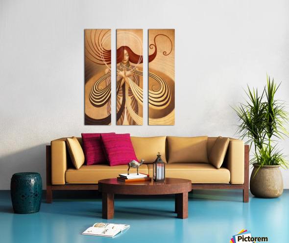 UNIVERSUM Split Canvas print