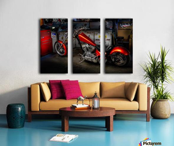Bike Edit Split Canvas print