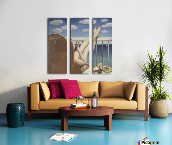 Glamour Split Canvas print
