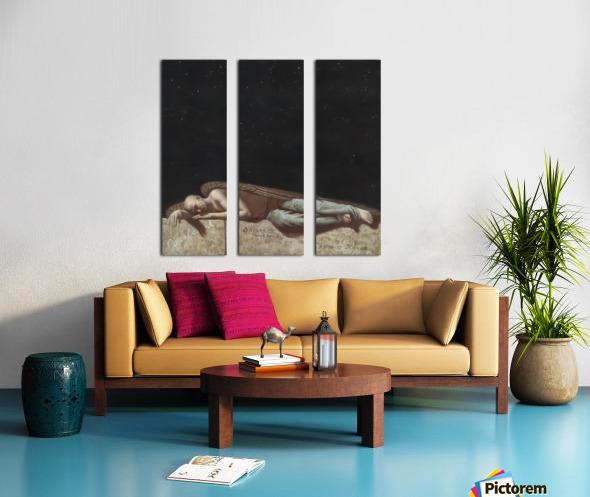 The_Angel Split Canvas print