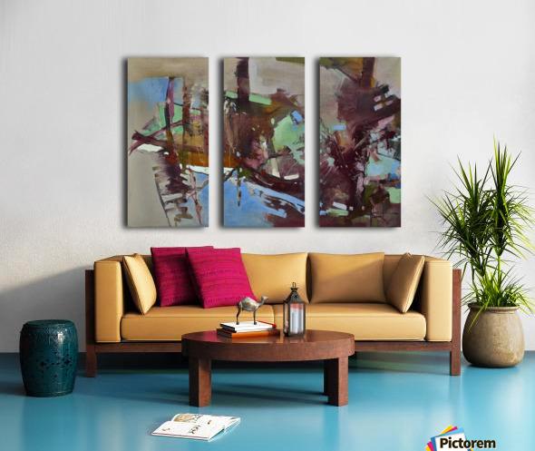 ALXF0005 Split Canvas print