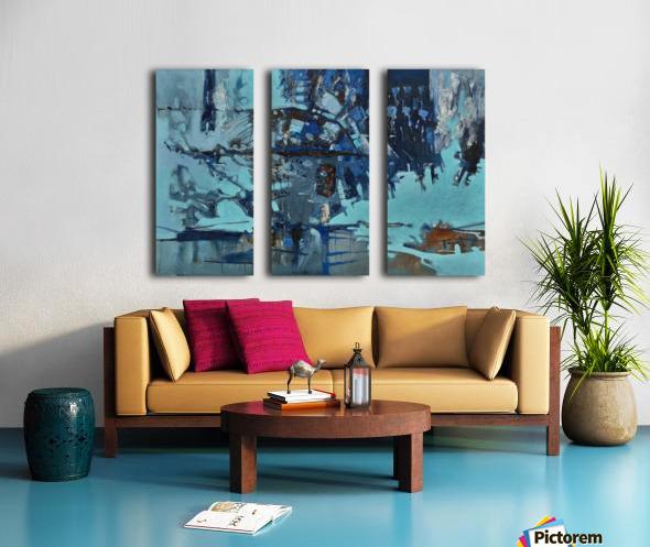 ALXF0011_1 Split Canvas print