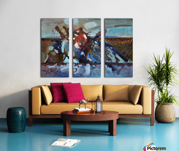 ALXF0009 Split Canvas print