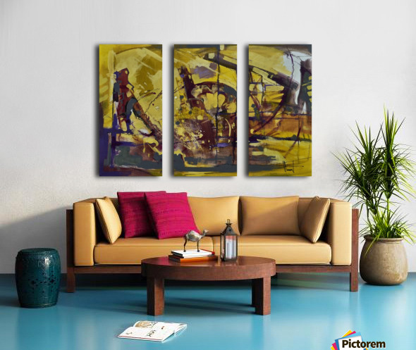 ALXF0013_1 Split Canvas print