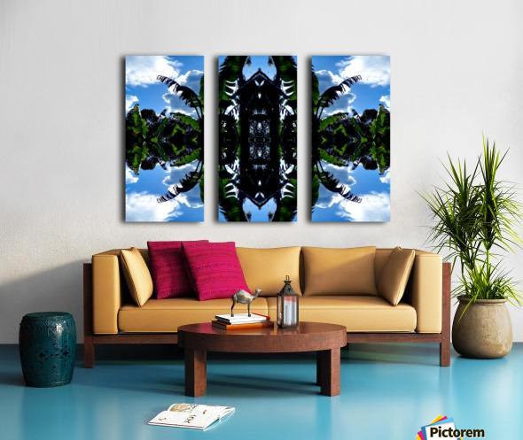 natural 3 Split Canvas print