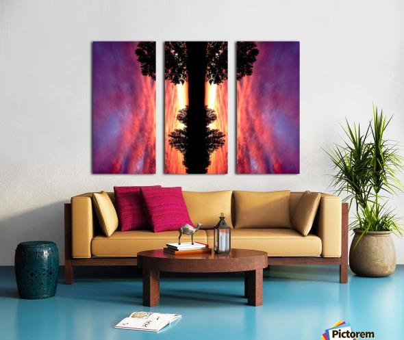 nube 43 Split Canvas print