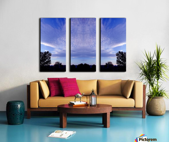 nube 44 Split Canvas print