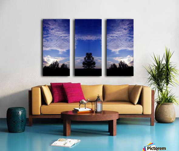 nube 45 Split Canvas print
