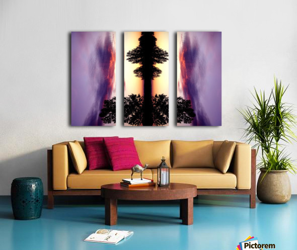 nube 47 Split Canvas print
