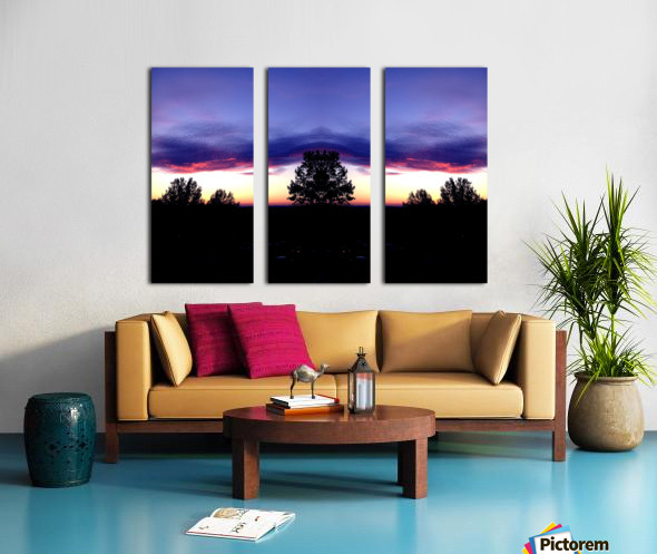 nube 48 Split Canvas print