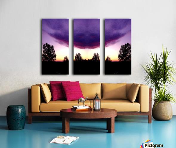 nube 50 Split Canvas print