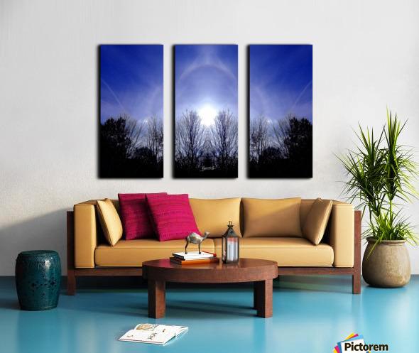 nube 55 Split Canvas print