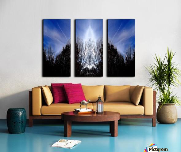 nube 56 Split Canvas print