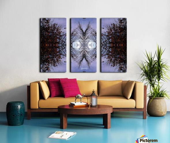 nube 57 Split Canvas print