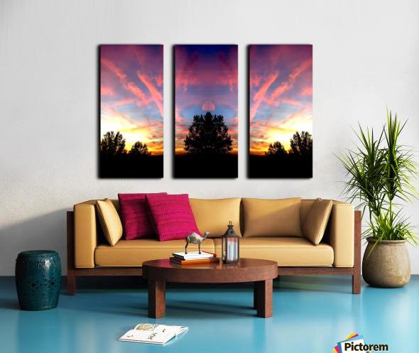 nube 58 Split Canvas print