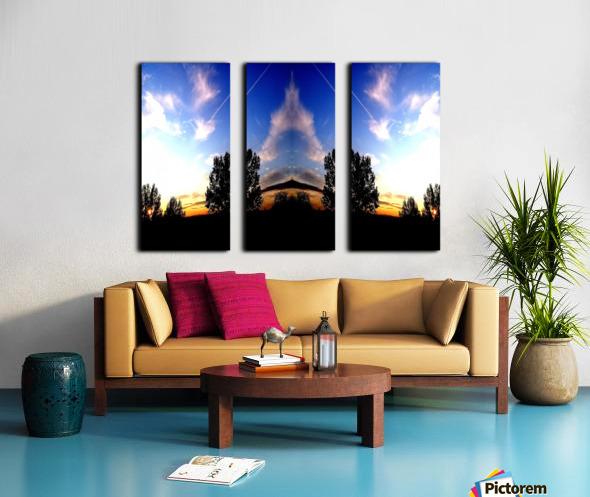 nube 59 Split Canvas print