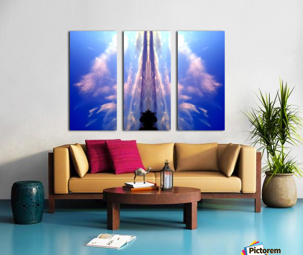 Cloud 60 Split Canvas print