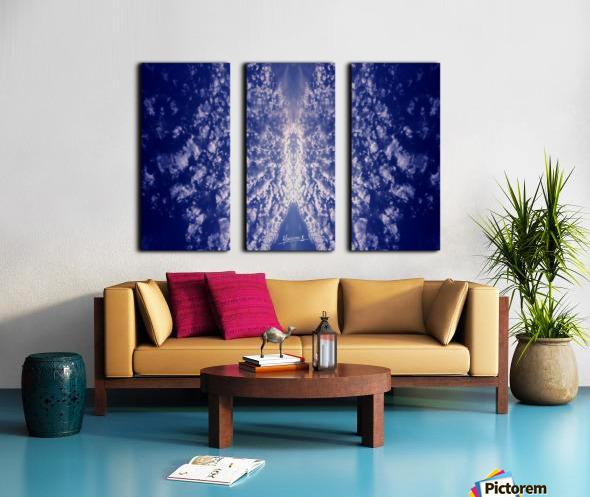 Skipe 17 Split Canvas print