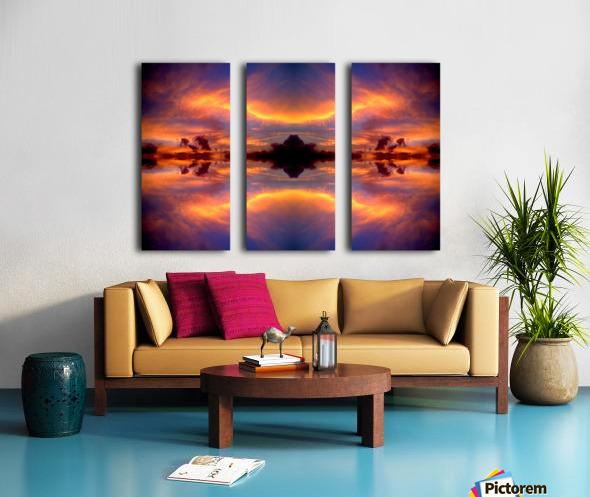 Skipe 24 Split Canvas print