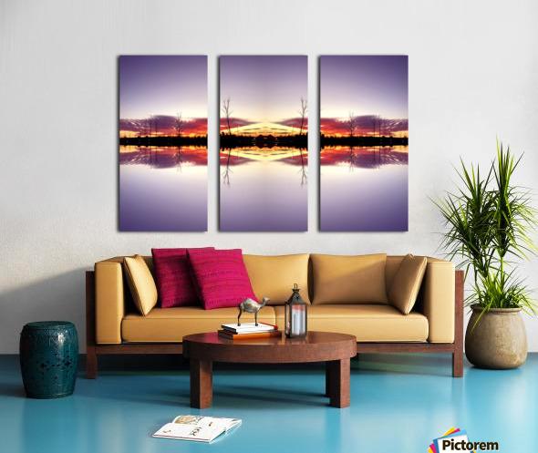 Sky 5 Split Canvas print