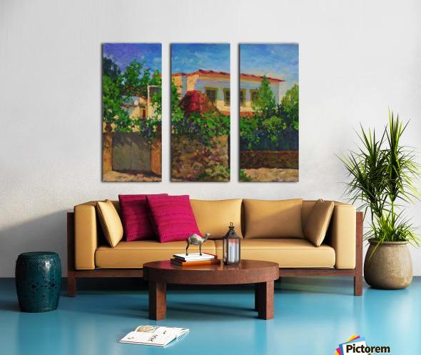 Little_Spanish_House Split Canvas print