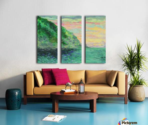Miracle Split Canvas print