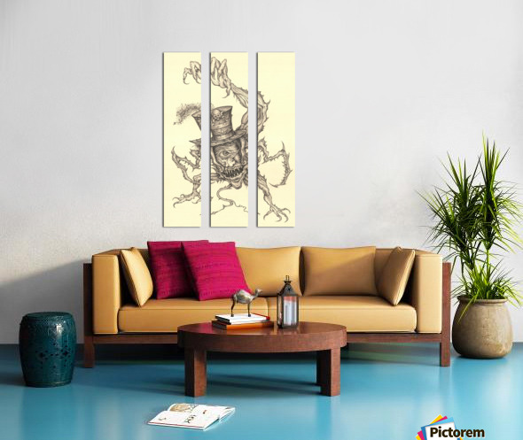 Child_Eater Split Canvas print