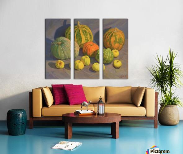 Pumpkins_And_Apples Split Canvas print