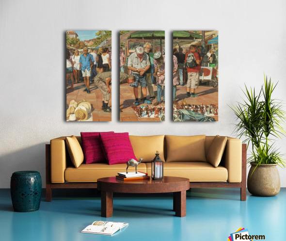 Market_In_Nice Split Canvas print